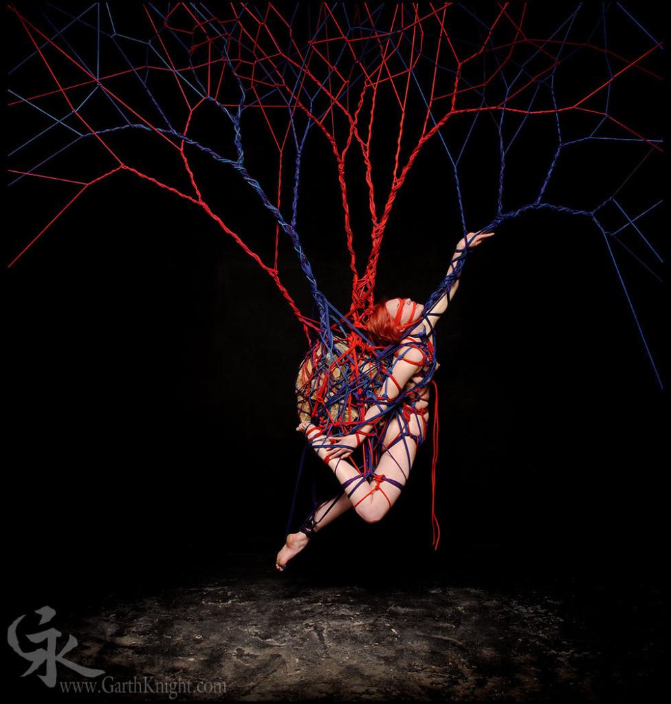Garth Knight shibari rope bondage