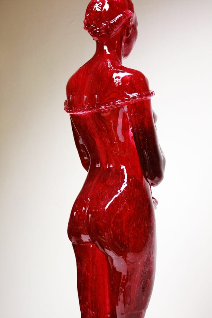 Joseph Marr Cherry Laura candy sculpture