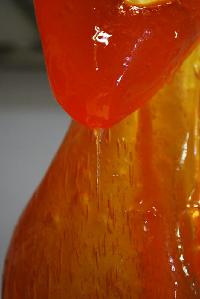 Joseph Marr Fanta Laura candy sculpture