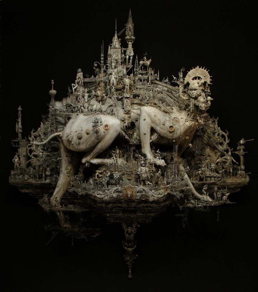 Kris_Kuksi_Beast_Of_Babylon_Beautiful_Bizarre