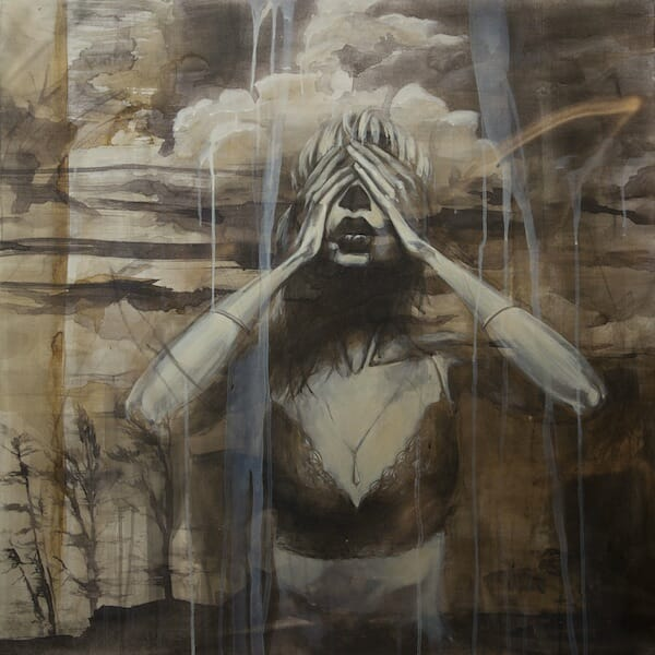 the_immense_gap_between_past_and_future_ink_acrylic_oil_and_spraypaint_on_belgian_linen1m_x_1m_beautifulbizarre