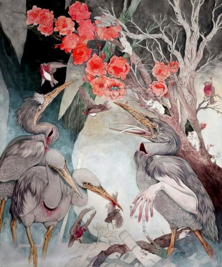Caitlin_Hackett_Birds_Beautiful_Bizarre
