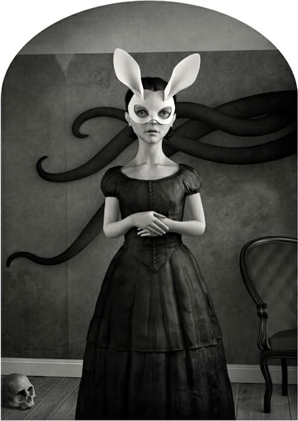 Danny Van Ryswyk White Rabbit Art