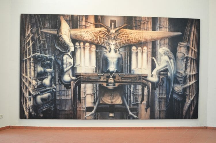 HR Giger Alien Zeitgeist Exhibition Leipzig