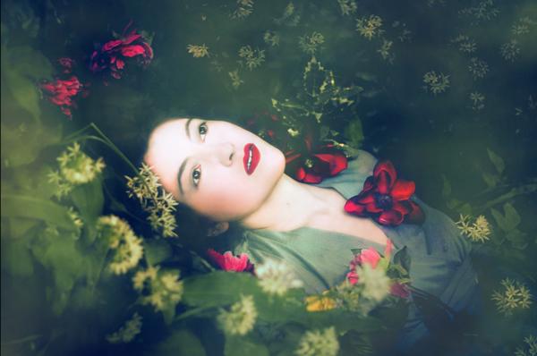 Olga Valeska Portait Fine Art Photography Lady River