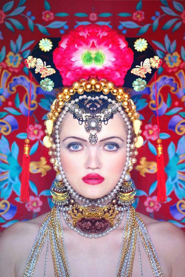 Olga Valeska Self Portrait Russian Kaliedoscope Fine Art Photography