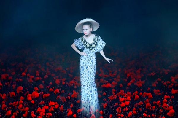 Olga Valeska Self Portrait Fine Art Photography Poppy field
