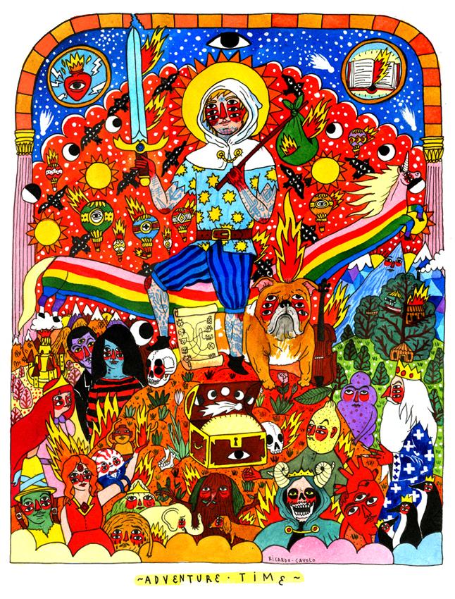 Ricardo Cavolo_Adventure Time
