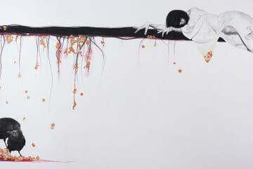 Stephanie Inagaki Love Loyalty Drawing Metamorphosis