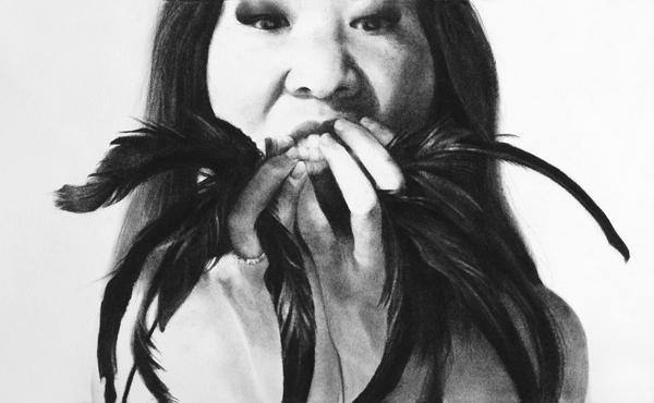 Stephanie Inagaki Murder of Crows b Drawing Metamorphosis