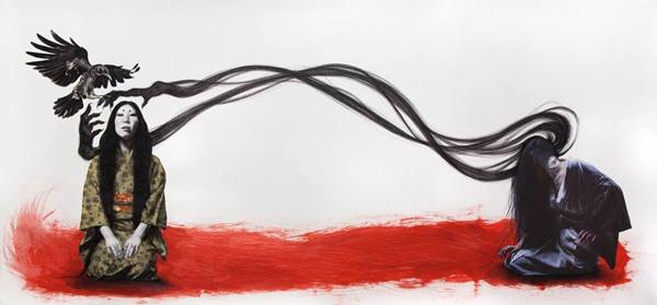 Stephanie Inagaki Futakuchi Doppelganger Drawing Metamorphosis