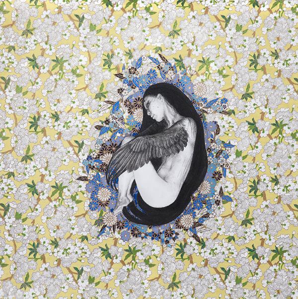 Stephanie Inagaki Nesting Karasu Drawing Metamorphosis