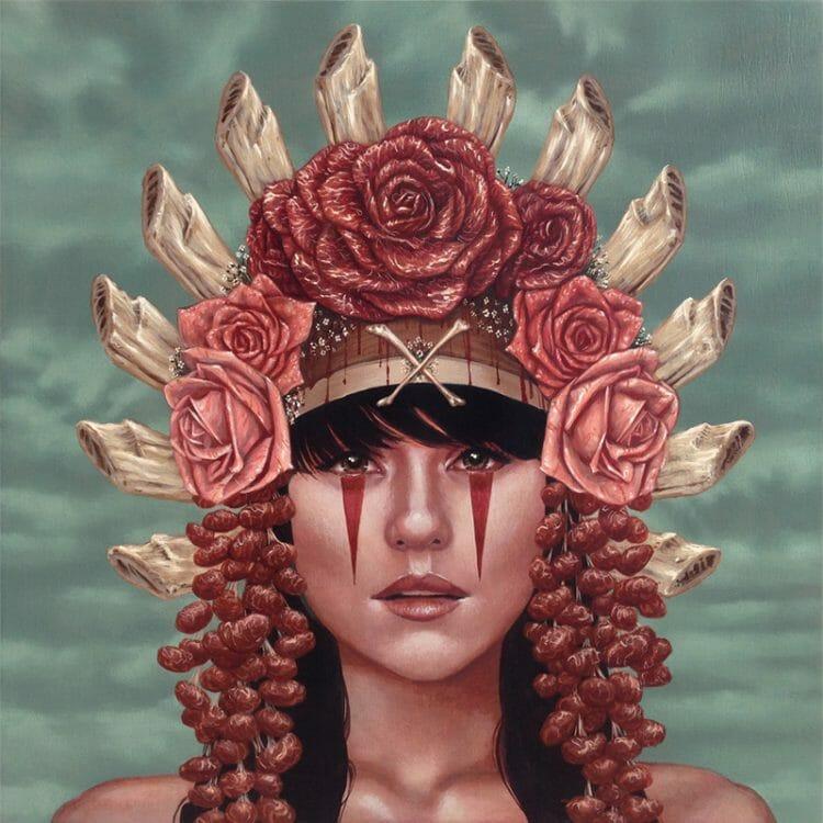 casey_weldon_roses_acrylic_original_art