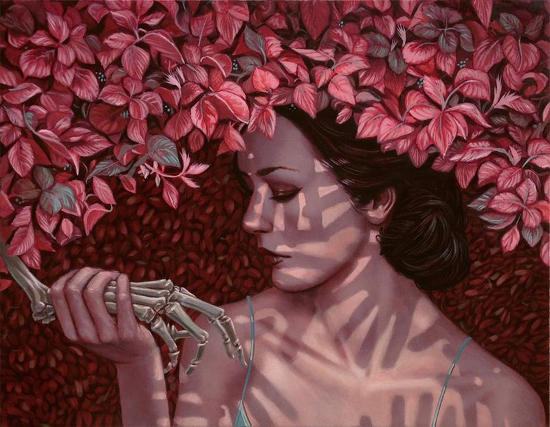 casey_weldon_slight_of_hand_acrylic_original_art