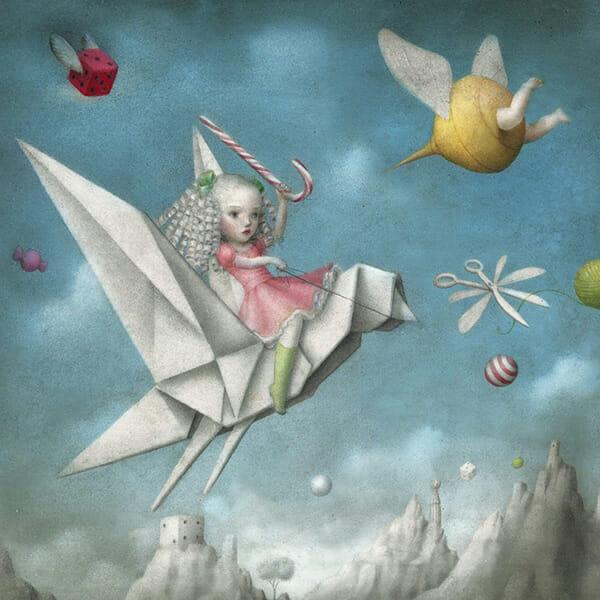 The Beautiful And Bizarre Dreamworld Of Nicoletta Ceccoli