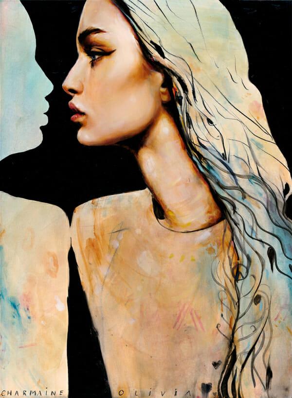 Charmaine Olivia Nile Beautiful Bizarre Magazine Painting