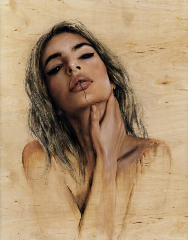 Charmaine Olivia Gaia Beautiful Bizarre Magazine Painting