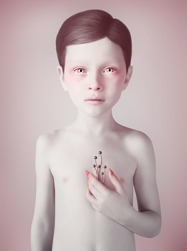 Oleg Dou Digital Art Mushroom Kingdom