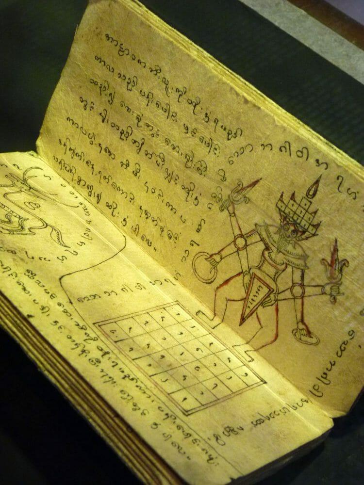 Ancient tattooist handbook.