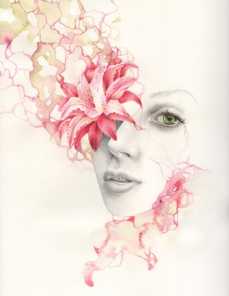 erica calardo illustration - in bloom