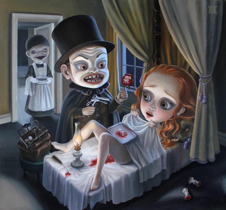 xue_wangs_haunted_house_beautifulbizarre_Dr Monk