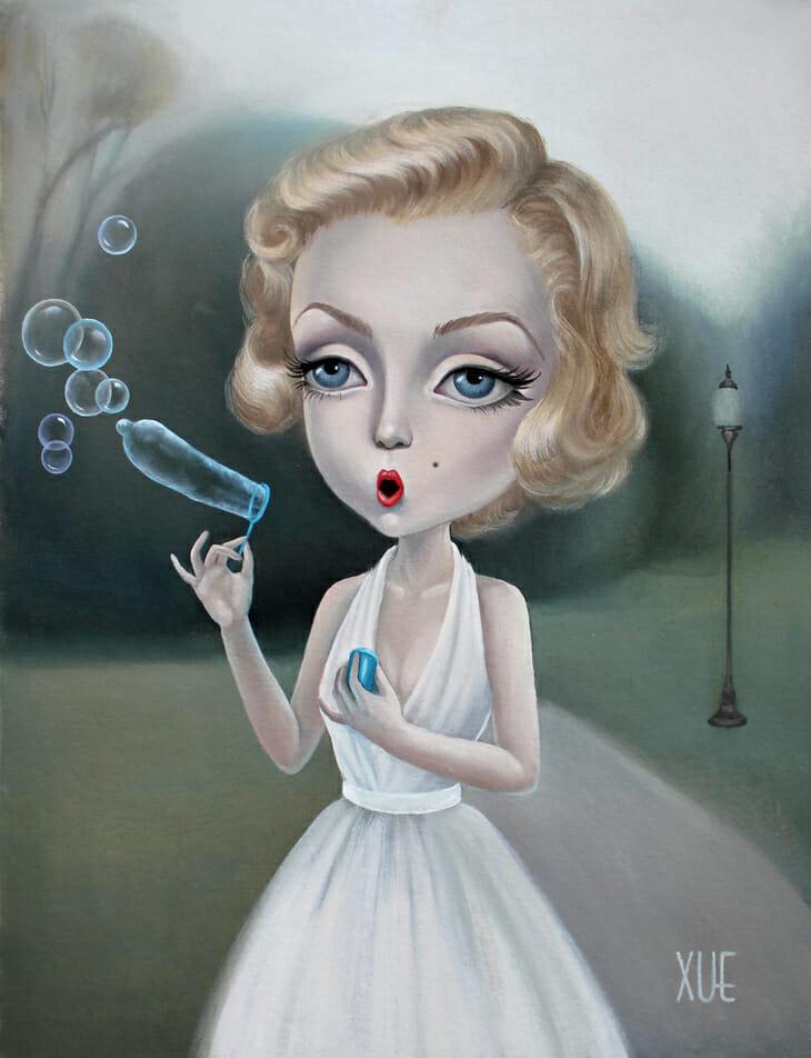 xue_wangs_haunted_house_beautifulbizarre_I'm forever blowing bubbles