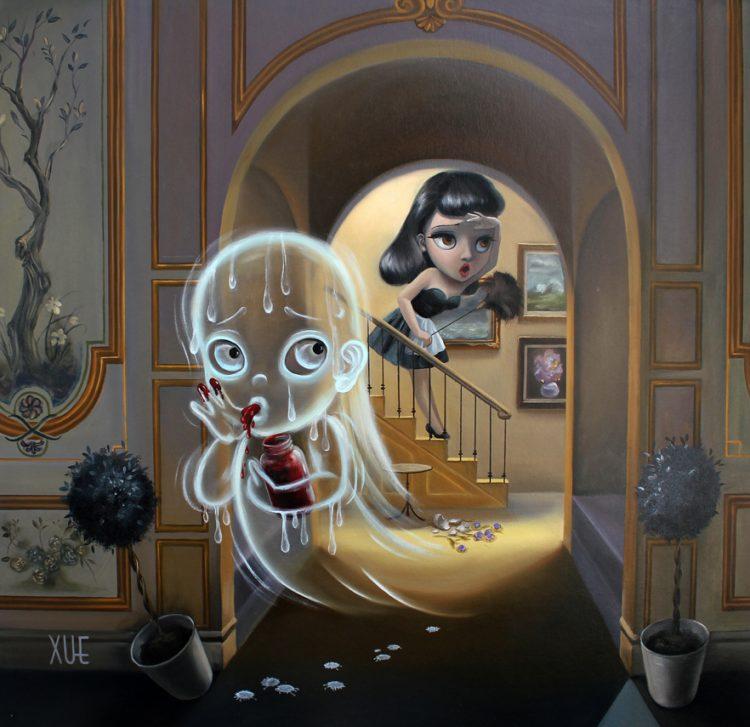 xue_wangs_haunted_house_beautifulbizarre_No jam tomorrow