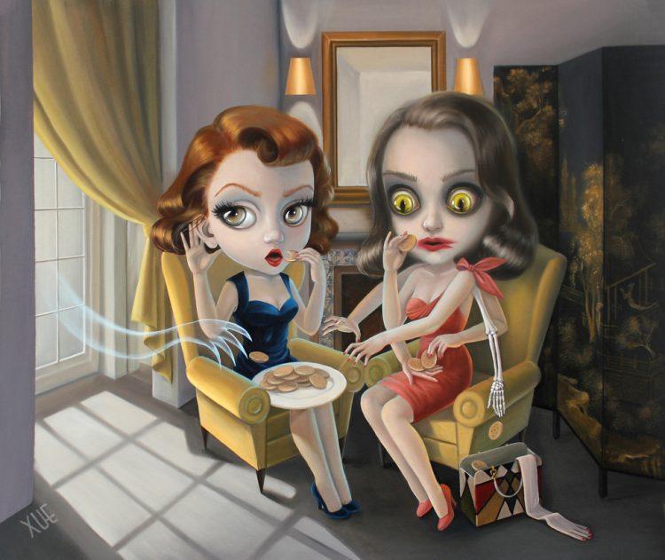 xue_wangs_haunted_house_beautifulbizarre_The uninvited guest