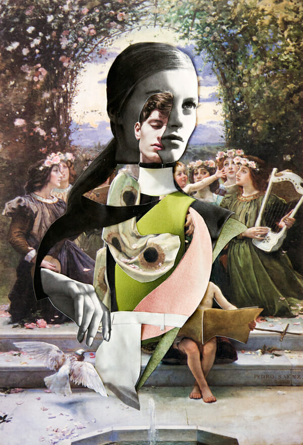 Ernesto Artillo Collage Dior