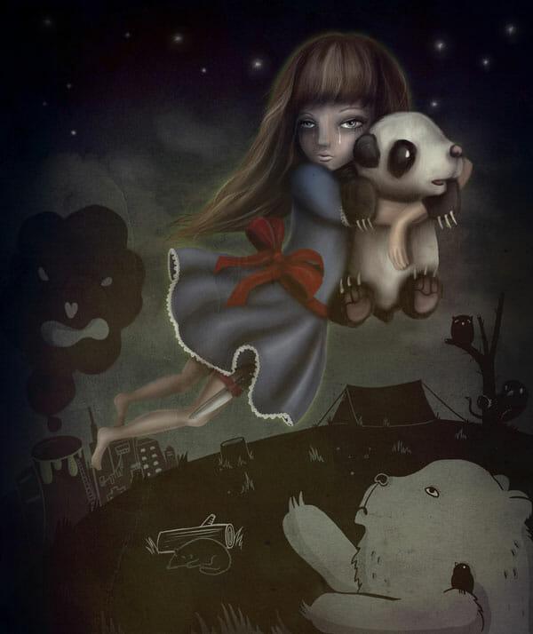 Jade_Klara_Fly_Panda_Fly_Art_Prints_2010_beautifulbizarre