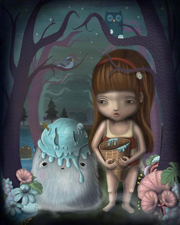 Jade_Klara_Lilith_&_Blob_Art_Prints_2010_beautifulbizarre