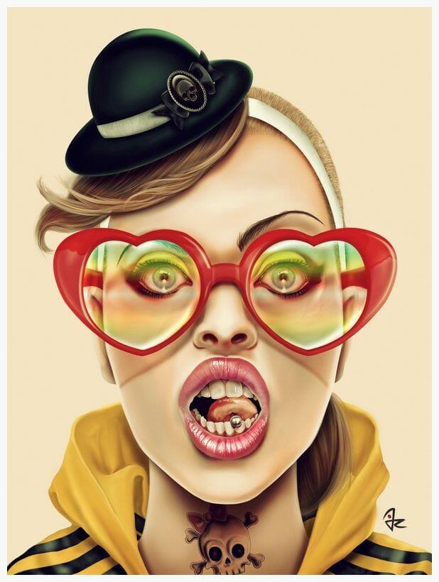 Digital Art Pop-Culture Surrealism Lowbrow Juxtapoz Beautifulbizarre