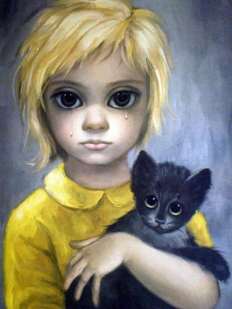 Big Eyes Art by keane
