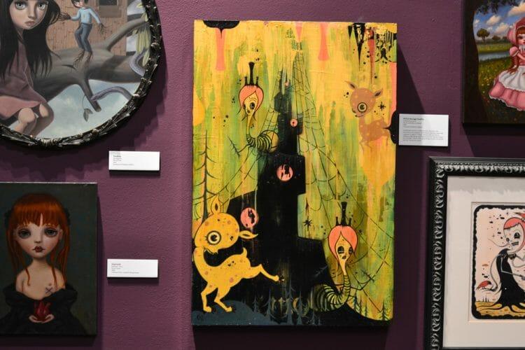 melancholy menagerie big eyes art exhibition