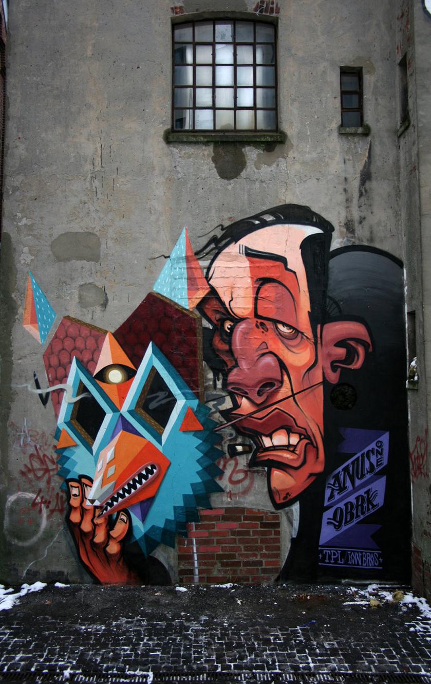 Low Bros Digital Art Graphic Pop-Culture Surrealism Lowbrow Juxtapoz Beautifulbizarre