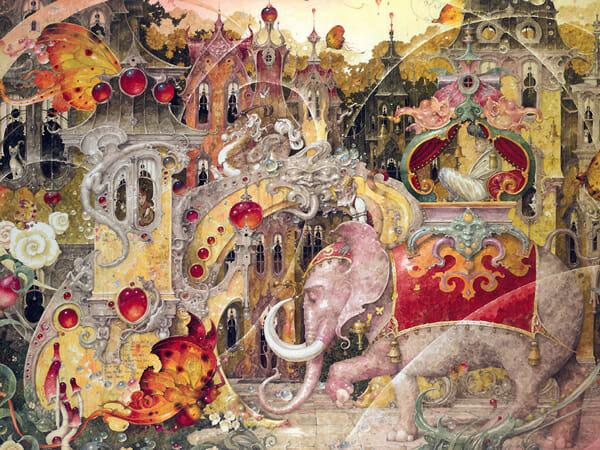 Daniel Merriam Painting 006