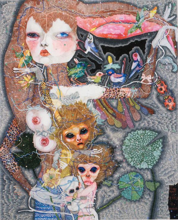 Del Kathryn Barton Australian Artist Painting 003