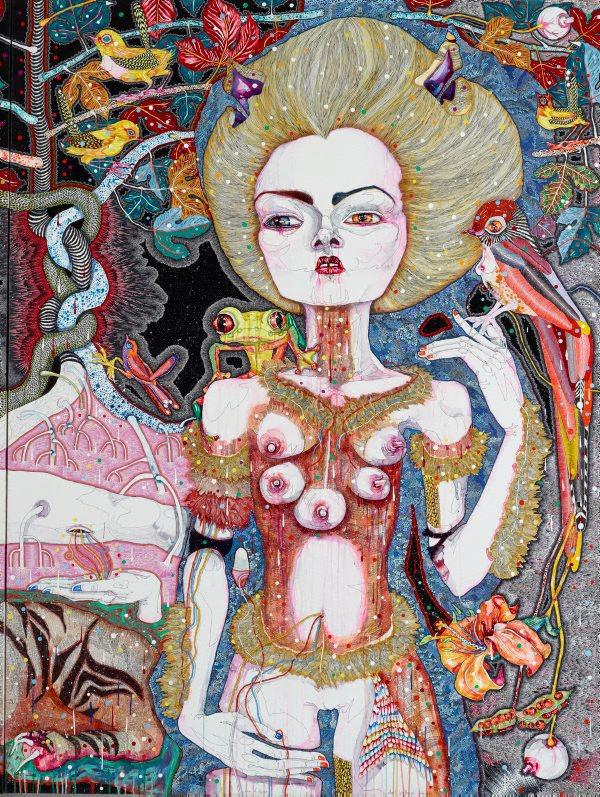 Del Kathryn Barton Australian Artist Painting 5