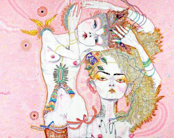 Del Kathryn Barton Australian Artist Painting 10