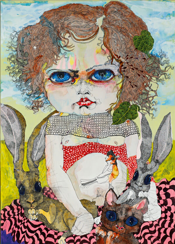 Del Kathryn Barton Australian Artist Painting 11