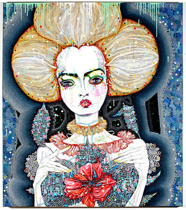 Del Kathryn Barton Australian Artist Painting 15