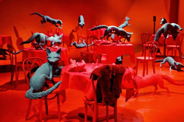 Sandy Skoglund Photography Installation 3