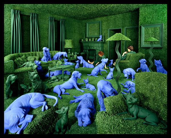 Sandy Skoglund Photography Installation 9