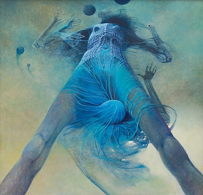 Zdzislaw Beksinski - Doomsday Abstraction