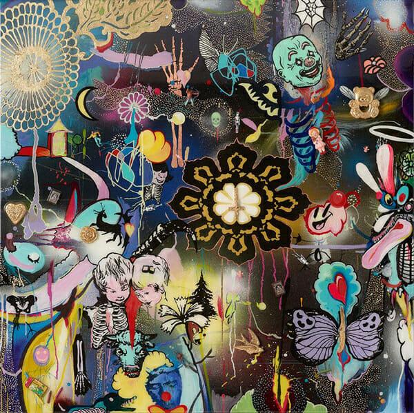 Dan Baldwin Painting Lost Souls 1