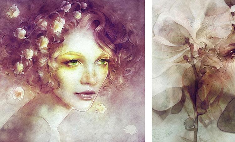 anna dittmann s ethereal portraits