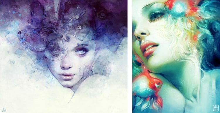 anna dittmann  - digital painting