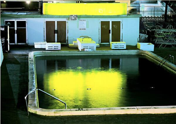 Yellow Pool by David Drebin