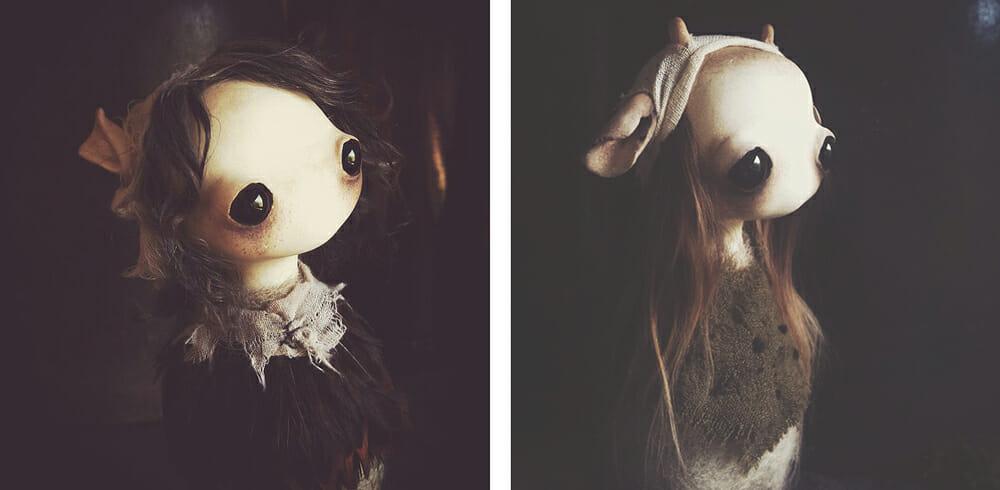 Mahlimae - art doll - sculpture