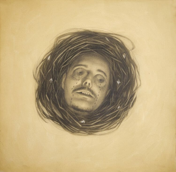 Inhumed by A Graphite Illustration by Sam Wolfe Connelly - Lore @ Hashimoto Gallery